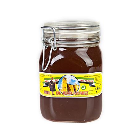 Miel de Flores 1500 gr Envase Hermético