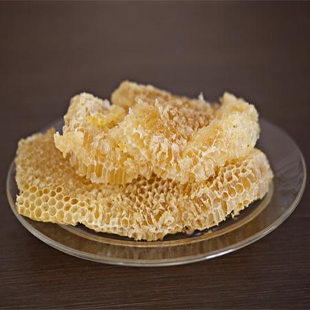 Panal con miel